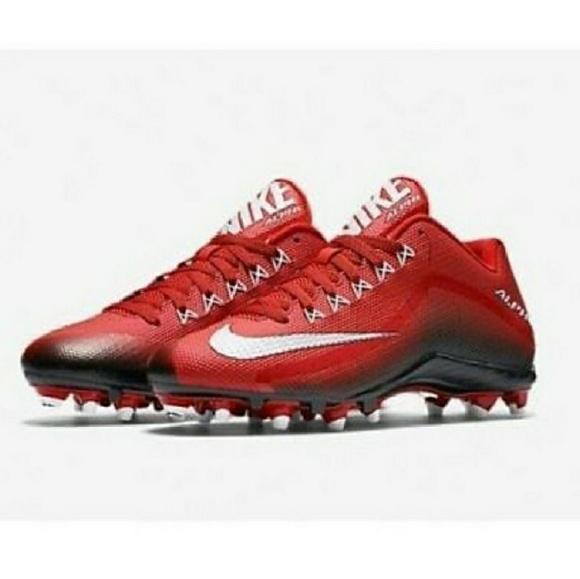 92cf65db9076 NWOT Nike Alpha Pro 2 Low TD Football Cleats Sz 12